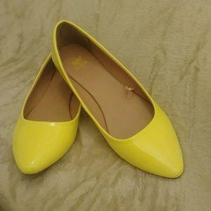 Yellow Women's Flats